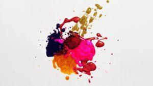 Mancha de pintura, portada del artículo ¿Quién es Fernando Botero?